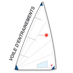 Voile Laser® Radial - Entrainement